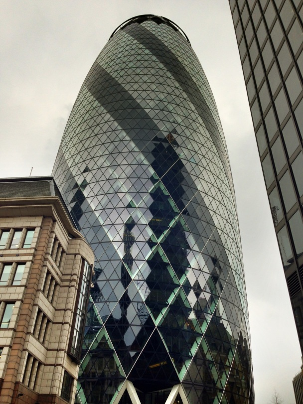 The Gherkin, St Maty Axe, City of London